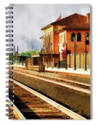 Station In Waiting Spiral Notebook