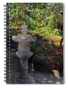 Statue In Shadows Spiral Notebook