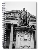 Statue Of King Edward Vii Spiral Notebook