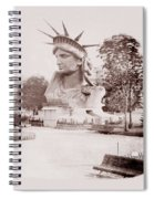 Statue Of Liberty 1883 Spiral Notebook