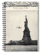 Statue Of Liberty, 1909 Spiral Notebook
