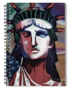 Statue Of Liberty Hb5t Spiral Notebook