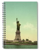 Statue Of Liberty, New York Harbor Spiral Notebook