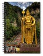 Statue Of Murugan Spiral Notebook