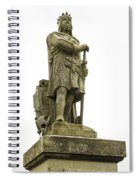 Statue Of Robert The Bruce Stirling Castle Spiral Notebook