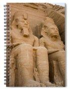 Statues At Abu Simbel Spiral Notebook