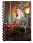 Statues At Ceasars Palace Spiral Notebook
