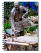 Statues Of After Noon Tea Spiral Notebook