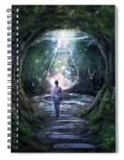 Stay For A Moment Spiral Notebook