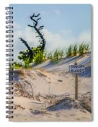 Stay Off Dunes Spiral Notebook