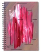Staying Between The Lines Spiral Notebook