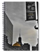 Staying Downtown Spiral Notebook