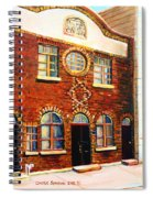 St.dominique Street Synagogue Spiral Notebook