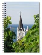 Ste. Anne's Steeple Spiral Notebook