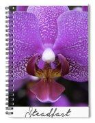 Steadfast Spiral Notebook