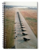 Stealth Fighters 37 Tactical Fighter Wing Spiral Notebook