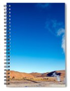 Steam At El Tatio Geysers Spiral Notebook