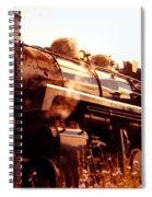 Steam Engine 3716 Spiral Notebook