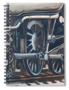 Steam Engine Wheels Spiral Notebook