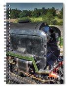 Steam Locomotive 34027 The Taw Valley Spiral Notebook