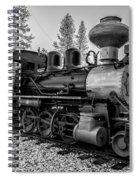 Steam Locomotive 5 Spiral Notebook