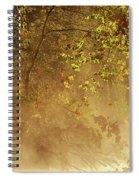 Steam Mist Spiral Notebook