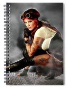 Steam Mistress Spiral Notebook
