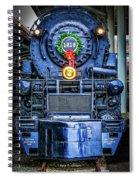 Steam Tidings Spiral Notebook