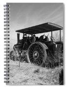 Steam Tractor Spiral Notebook