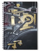 Steam Tractor Spiral Notebook