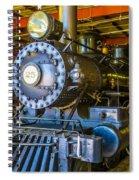 Steam Train 25 Spiral Notebook