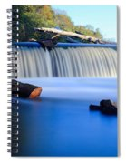 Steamboat Rock Panorama 2 Spiral Notebook