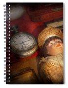 Steampunk - 9-14  Spiral Notebook