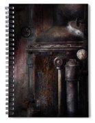 Steampunk - Handling Pressure  Spiral Notebook