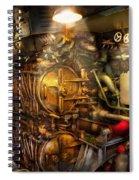 Steampunk - Naval - The Torpedo Room Spiral Notebook