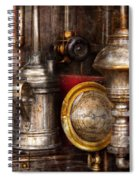Steampunk - Needs Oil Spiral Notebook