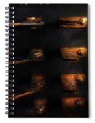 Steampunk - Pull The Switch Spiral Notebook