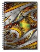 Steampunk - Spiral - Space Time Continuum Spiral Notebook