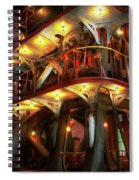 Steampunk - Allis Does All The Work Spiral Notebook