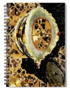 Steampunk Christmas Spiral Notebook
