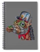 Steampunk G Spiral Notebook