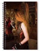 Steampunk Mirror Spiral Notebook
