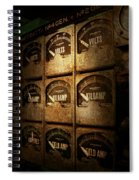 Steampunk - Naval - Electric - Power Grid Spiral Notebook