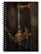 Steampunk - Plumbing - Number 4 - Universal  Spiral Notebook