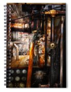 Steampunk - Plumbing - Pipes Spiral Notebook