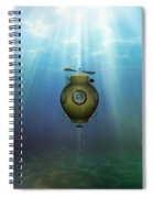 Steampunk Submarine Spiral Notebook