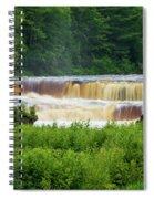 Steamy Lower Tahquamenon  Spiral Notebook