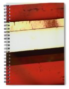 Steel City Rust Abstract Spiral Notebook