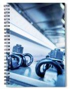 Steel Mechanic Hardware Spiral Notebook