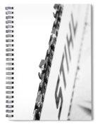 Steel Stihl Bar Spiral Notebook